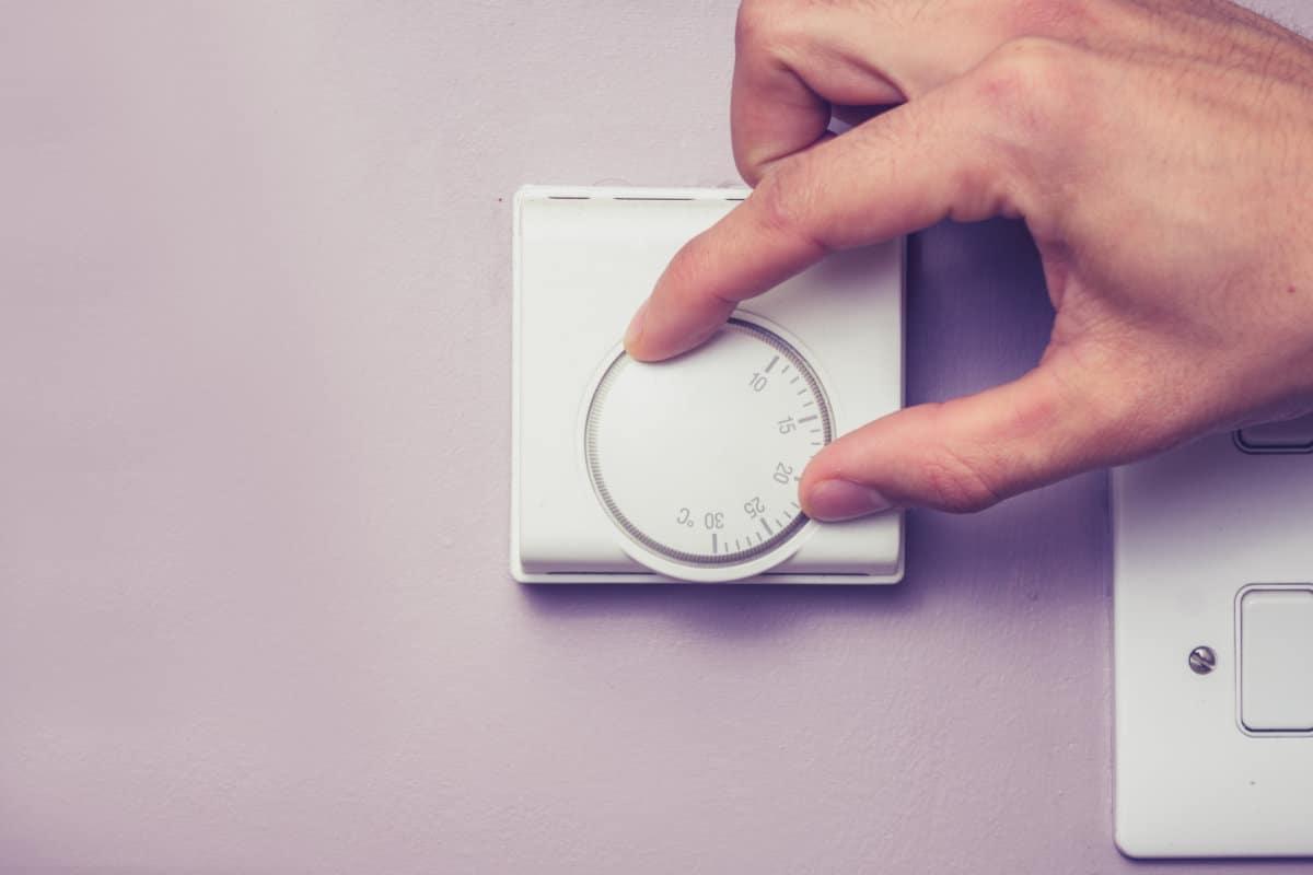 voorbeeld energie te besparen via verwarming