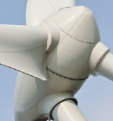 werking van windmolens